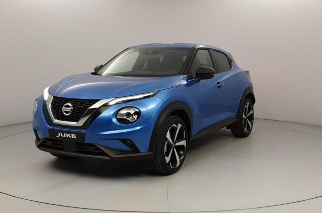 Nissan Juke - RCA - niebieski metalizowany - Nissan Odyssey