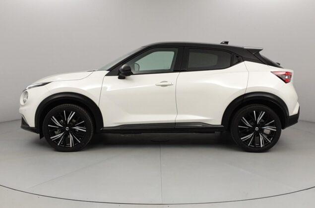 Nissan Juke - XDF - biała perła + czarny dach - Nissan Odyssey