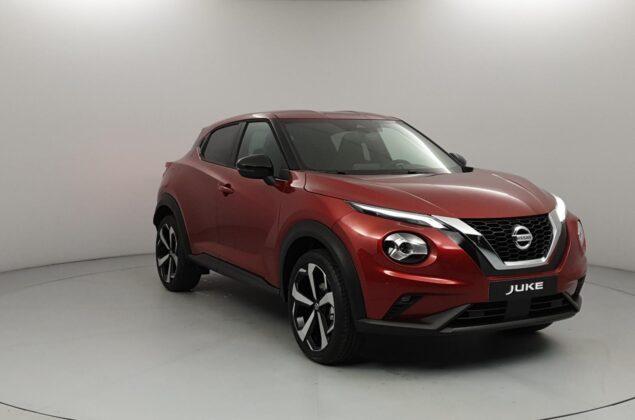 Nissan Juke - NBV - czerwony Fuji Sunset - Nissan Odyssey