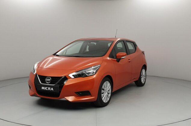Nissan Micra - EBF - pomarańczowy metalizowany - Nissan Odyssey