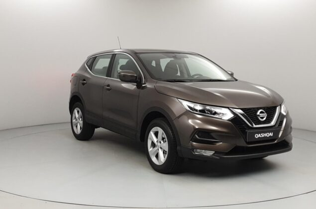 Nissan Qashqai - CAN - brązowy metalizowany - Nissan Odyssey