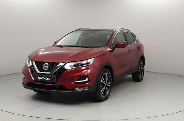 Nissan Qashqai - NAJ - czerwony metalizowany - Nissan Odyssey