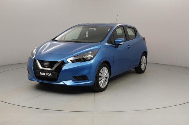 Nissan Micra - RQG - niebieski metalizowany - Nissan Odyssey