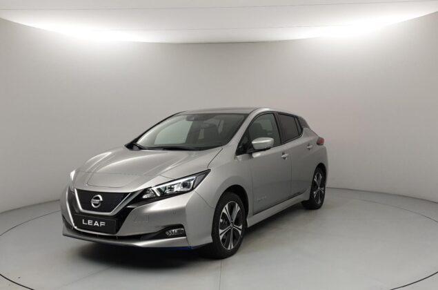 Nissan Leaf - KY0 - srebrny metalizowany - Nissan Odyssey