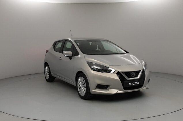 Nissan Micra - KNV - ciepły srebrny - Nissan Odyssey