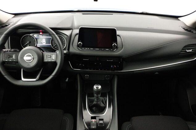 Nowy Nissan Qashqai - NBQ - burgundowy metalizowany - Nissan Odyssey