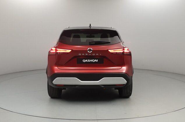 Nowy Nissan Qashqai - XEY - czerwony + czarny dach - Nissan Odyssey